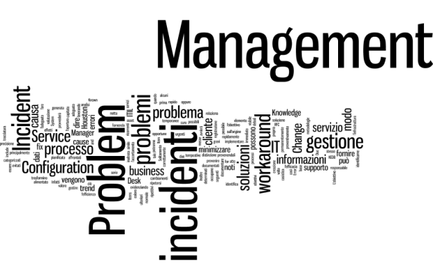 TAG Cloud ITIL Problem vs Incident